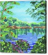 Impressionistic Landscape Xx Acrylic Print