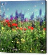 Impressionistic Springtime Acrylic Print