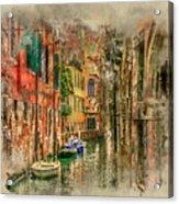 Impressions Of Venice Acrylic Print
