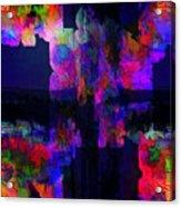 In A Mystic Night Acrylic Print