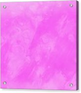 In A Pink Mood Acrylic Print