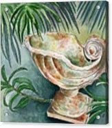 In A Tropical Garden  Acrylic Print