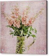 In A Vase Acrylic Print