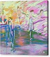 In Ballet Class Acrylic Print