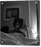 In Bed With Hendrix Acrylic Print