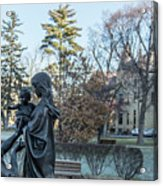 In Celebration Of Family Notre Dame 2 Acrylic Print