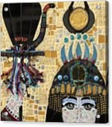 In Dreams Of Ricky Bobbie And Me In Egypt Acrylic Print