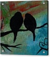 In Love Iv Wr Acrylic Print