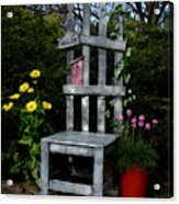 In My Garden Acrylic Print