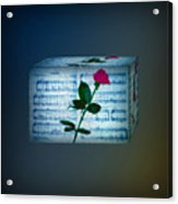 In My Life Cubed Acrylic Print