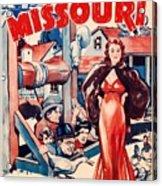 In Old Missouri 1940 Acrylic Print