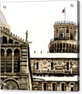 In Pisa Acrylic Print
