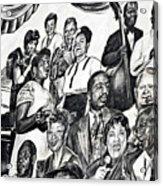 In Praise Of Jazz IIi Acrylic Print