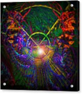 In Search Of Cosmic Pi 3.14 Acrylic Print