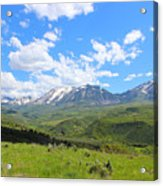 In The Back Country 2 Acrylic Print