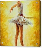 In The Ballet Class Acrylic Print