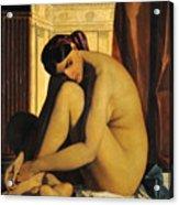 In The Bath Acrylic Print