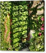 In The Courtyard Acrylic Print
