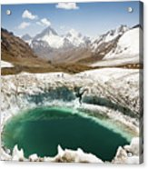 In The Depth Of Pamir Acrylic Print