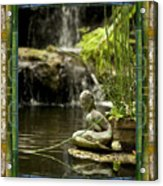 In The Flow Acrylic Print by Bell And Todd