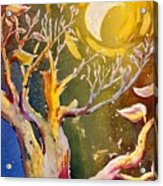 In The Forest Of The Night Acrylic Print