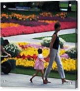 In The Garden Of Monet Acrylic Print