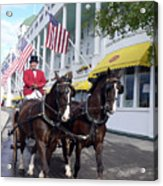 In The Grand Mackinac Manner Acrylic Print