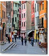 In The Heart Of Town Acrylic Print