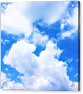 In The Heavens Above Acrylic Print