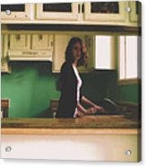 In The Kitchen Acrylic Print