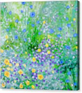 In The Meadow Acrylic Print
