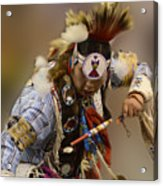 Pow Wow In The Moment Acrylic Print