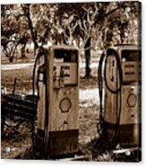 In The Old Days... Acrylic Print