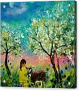 In the orchard Acrylic Print