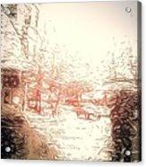In The Rain Acrylic Print