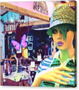 In The Shop Acrylic Print