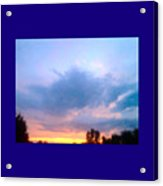 In The Sky Above And Below Acrylic Print