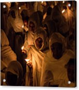 In The Streets Of Aksum Acrylic Print
