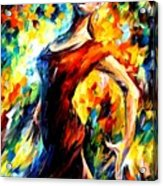 In The Style Of Flamenco Acrylic Print