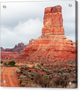 In The Valley Of The Gods Acrylic Print