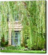 In The Weeping Willows Acrylic Print