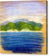 In View Of Tuapse Acrylic Print