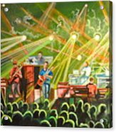 In With The Um Crowd Acrylic Print