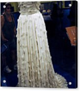 Inaugural Gown On Display Acrylic Print