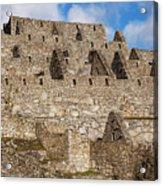 Inca Stone Ruins Acrylic Print