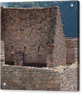 Inca Structure Acrylic Print
