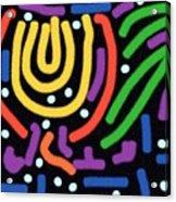 Incan Design Acrylic Print