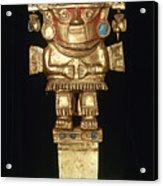 Incan Gold Ornament Acrylic Print