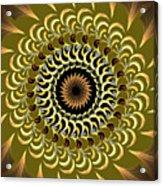 Incendia Kaleidoscope Acrylic Print