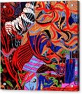 Incense Acrylic Print